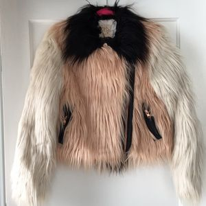 Chaser Faux Fur Coat
